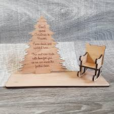 Don't Spend Christmas Tree Plaque