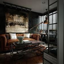 interieur in einem kleinen wohnzimmer im angesagten