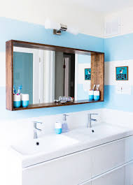 Bathroom Mirror Frame Ideas 21 Bathroom Mirror Ideas To Inspire Your Home Refresh Colonial 38 Reflect Style Freshome Amazing Master Frame Lowes Bath Argos Sink For 30 Most Fine Custom Frames Picture Large Mirrors 25 Best A Small How Builders Grade Before And After Via Garage Wall Sconces Framing A Big Of With Diy Reason Why You Shouldnt Demolish Old Barn Just Yet Kpea Hgtv Antique Round The Super Real