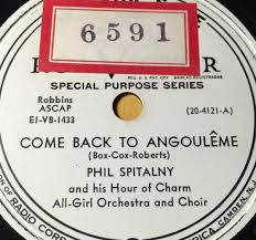 pat a angouleme phil spitalny and his hour of charm all orchestra and choir