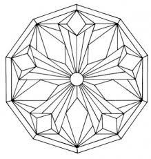 Coloring Page Simple Mandala 5