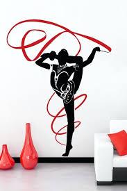 Wall Decor Target Canada by Wall Decor Target Canada Dance Gymnastics Decals Canvas Art