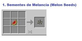 Minecraft Melon Seeds by Minecraft Plantação De Melancia Melon U2013 Colorindo Nuvens