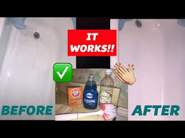 how i clean my bathtub baking soda vinegar does it