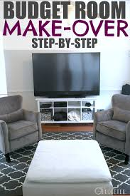 Living Room Makeovers Diy by Diy Room Makeover How To Redesign Your Home On A Budget Busy