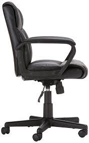 Mainstays Desk Chair Gray by Amazon Com Amazonbasics Mid Back Office Chair Black Kitchen
