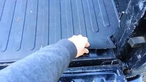 Pickup Bed Mats by Truck Camper Rubber Bed Mat Youtube
