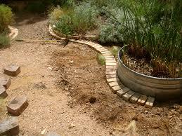 Landscape Edging Brick Ideas Garden Bricks Border Arafen 14 Flower