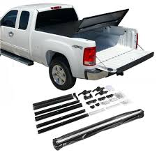 Fit 2004-2014 Ford F150 6.5Ft Bed Tri-Fold Lock Soft Tonneau Cover ...
