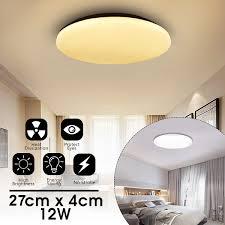 LED Flush Mount Ceiling Light Fixture Cool White Warm White Pendant Lamp LED Chandelier Lighting For Home Kitchen Living Room Bright Ceiling Light