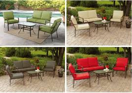 King Soopers Patio Table by Mainstays Stanton 4 Piece Conversation Set Only 159 Passionate