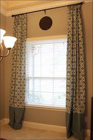 living room magnificent curtain pole extender bay window curtain