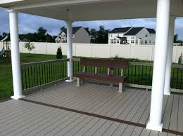 Ampro PVC Decking. Great Railings Deck Teck Khaki Rail With Black ... Best 25 Deck Railings Ideas On Pinterest Outdoor Stairs 7 Best Images Cable Railing Decking And Fiberon Com Railing Gate 29 Cottage Deck Banister Cap Near The House Banquette Diy Wood Ideas Doherty Durability Of Fencing Beautiful Rail For And Indoors 126 Dock Stairs 21 Metal Rustic Title Rustic Brown Wood Decks 9