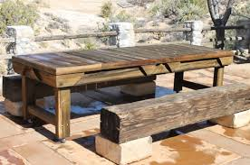 tips on how to build your own set of rustic outdoor furniture