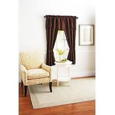 Bathroom Curtains At Walmart by Better Homes And Gardens Lace Damask Curtain Panel Cream