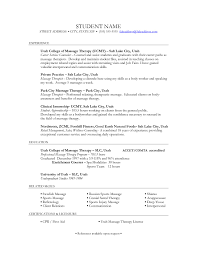 Massage Therapist Resume Cover Letter Unique How To Write A Referral For Job