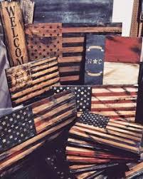Wood Signs Flags American Flag North Carolina Spartan Art