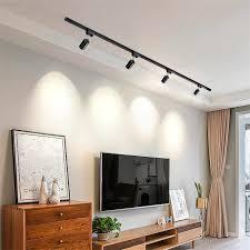 gu10 halter led track licht aluminium decke schiene tracking beleuchtung spot schiene strahler leuchte für wohnzimmer showroom shop