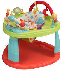 table activité bébé avec siege bambisol creative baby base d activités et d eveil multicolore