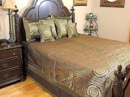 Vintage Baseball Crib Bedding by Mandala Duvet Set U2013 Gold Zari Patterned Luxurious Indian Bedding