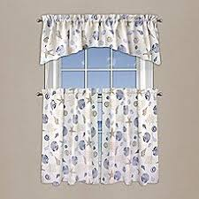 Bed Bath And Beyond Bathroom Curtain Rods by Seacoast Rod Pocket Window Curtain Panel In White