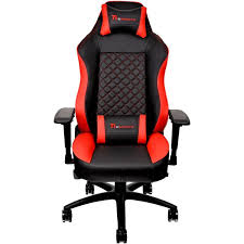 Buy The Thermaltake Gaming Chair GT Comfort Black And Red ...