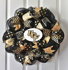 UCF Deco Mesh Wreath