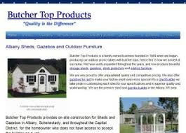 butcher top products sheds gazebos in schenectady ny 2084