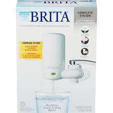 Pur Faucet Filter Replacement Instructions by Brita On Tap Faucet Water Filter System Walmart Com
