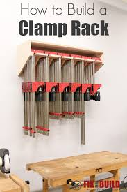 How To Build A Clamp Rack DIY Plans
