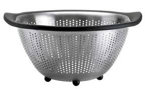 Over The Sink Colander by Let It Drain The Best Colanders 2017 Foodal