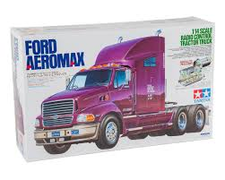 100 Semi Truck Pictures Tamiya 114 Ford Aeromax 6x4 Kit TAM56309 Cars