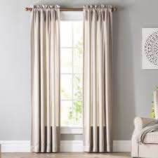 Wayfair Basics Solid Room Darkening Rod Pocket Single Curtain Panel