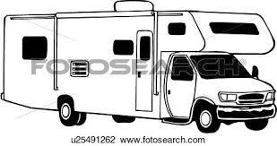 Clipart Of Camper Mini