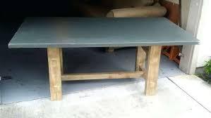 slate dining room table silver davenport 7 slate dining