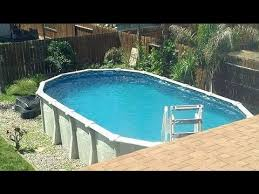 Used Above Ground Swimming Pool Walk Thru