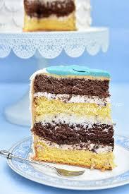 weiße marzipan torte