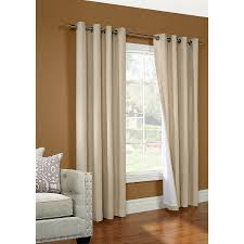 decor cream penneys curtains with stainless steel curtain rods