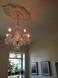 Small Two Piece Ceiling Medallions by Ekena Millwork Strasbourg Two Piece Ceiling Medallion