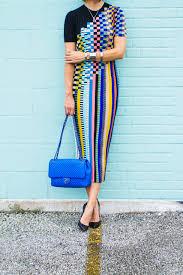 100 Missoni Sydney Check Knit Midi Dress Carrie Colbert