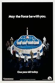 The First Anniversary Poster Features A Blue And White Cake Baked By West Hollywoods Art Photographed Weldon Anderson