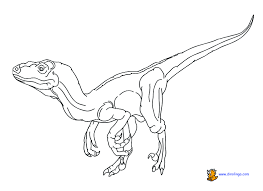 Dinosaur 5 Coloring Page