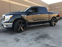 100 26 Truck 2017 Nissan Titan With K9 Rims 2017 Nissan Titan My Way