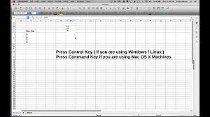 How To Have Multiple Rows Line Within A Single Cell In LibreOffice