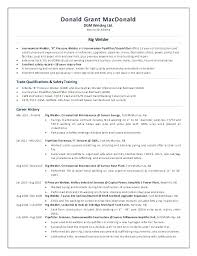 Welding Resume Objective Examples Cover Inspector Sample