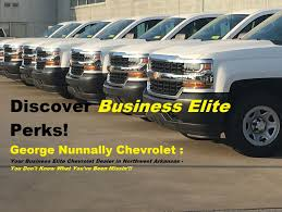 Commercial Chevrolet Fleet Sales - NWA & FT. Smith, AR!