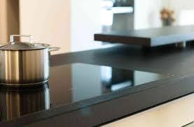 küche granit nero assoluto geflammt gebürstet küche