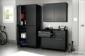 Lockers For Garage Storage Metal Wall Cabinets Steel And Black