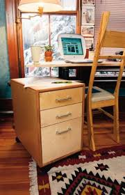a contemporary mobile file cabinet popular woodworking magazine