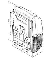 Coleman 48204C866 MACH 15K RV Air Conditioner